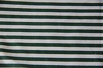 Úžitkový textil - Sťahovacie vrecúško (Zelená) - 10286163_