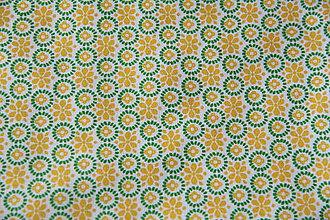 Úžitkový textil - Sťahovacie vrecúško (Žltá) - 10286166_