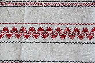 Úžitkový textil - Sťahovacie vrecúško (Biela) - 10286174_