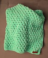 Textil - Detská deka Pepermint - 10287378_