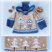 Detské oblečenie - Mikina s kŕmidlami. - 10287136_