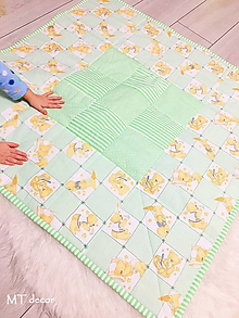 Úžitkový textil - DETSKÁ DEKA - 10287420_