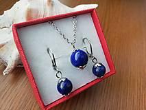 Sady šperkov - Sada lapis lazuli  - 10289812_