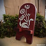 Pomôcky - Kvetinkový stojan na mobil - 10290894_