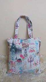 Nákupné tašky - Taška nákupná PARIS - 10289692_