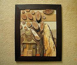 Obrazy - Dom pod májovým stromom - 10291565_
