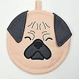 Peňaženky - Mincovnička-obal na zips MOPSLÍK - 10289759_