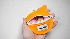 Peňaženky - Mincovnička-obal na zips LÍŠKA - 10289778_