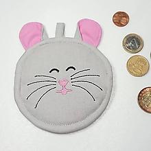 Peňaženky - Mincovnička myška - 10289790_
