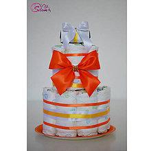 Detské doplnky - Plienková torta 7 - 10290884_