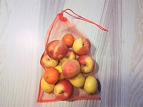 Nákupné tašky - Nákupné eko vrecko - veľké oranžové - 10290375_