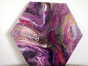 Obrazy - Violet flood - 10291556_