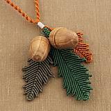 Náhrdelníky - Macramé náhrdelník - 10290713_