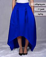 Sukne - KVETAVA (atypická sukňa s protizáhybmi) - 10289800_
