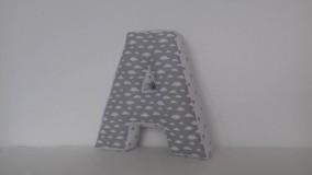 Textil - A  písmenkový vankúšik  30 cm - 10289869_
