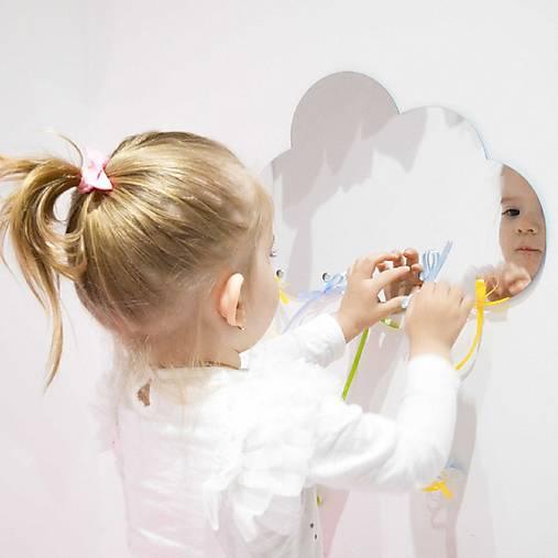 (003dz) Zrkadlo dekorácia - MRÁČIK