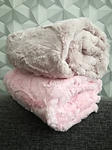 Textil - Minky Luxe Cuddle® Hide Blush & Rosewater - 10292109_