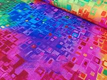 Textil - Dizajnová bavlna Awaken - Bright by Chong-a Hwang - 10293201_