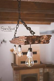 Svietidlá a sviečky - StaroNový Luster - 10295477_