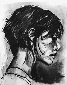 Obrazy - portrety - 10293578_