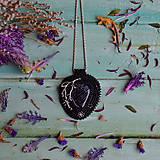 Náhrdelníky - Větvičkový - vyšívaný náhrdelník  - 10296058_