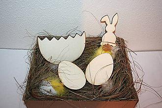 Polotovary - Veľkonočné vajíčko - 10295488_