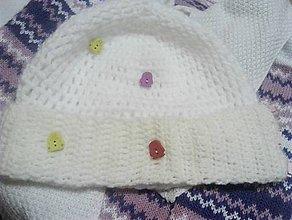 Detské čiapky - 3v1 čelenko -čiapka-tenšia čiapka pre deti na objednávku - 10296039_