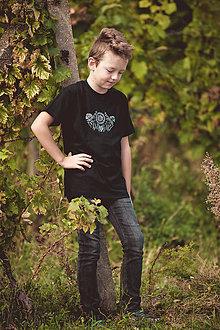 Tričká - Detské - panské folk tričko - 10293089_