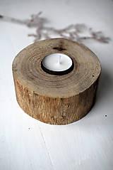 Svietidlá a sviečky - Svietnik natur ORECH - 10293261_