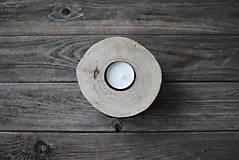 Svietidlá a sviečky - Svietnik natur ORECH - 10293405_