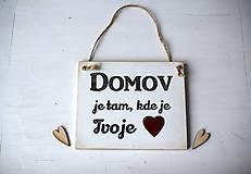 Tabuľky - Tabuľka DOMOV - 10294041_