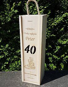 Dekorácie - Obaly na víno na mieru - 10292159_