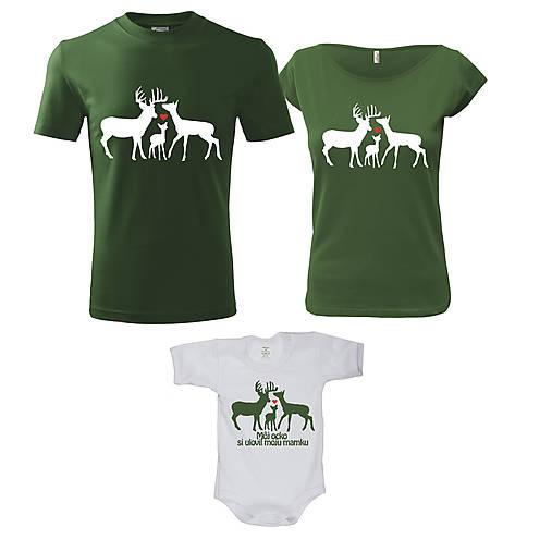 7b422cc6a375 Poľovnícka rodinka - rodinný set tričiek   ele-ele - SAShE.sk ...