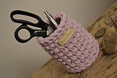 - Háčkovaný ceruzkáč #Ružový - 10292674_