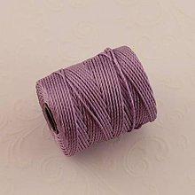 Galantéria - Nylonové nite 0,62 mm (Fialová) - 10295068_