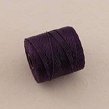 Galantéria - Nylonové nite 0,62 mm (Fialová) - 10295072_