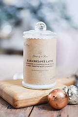 Svietidlá a sviečky - Sójová sviečka 310g Karamelové latté - 10295351_