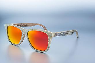Iné doplnky - Kamenno drevené okuliare - Jupiter - 10292464_
