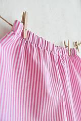 Detské oblečenie - Ružové kraťasky - 10295752_