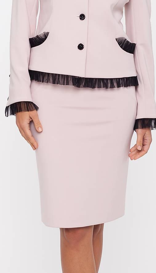 Dámska sukňa púdrová