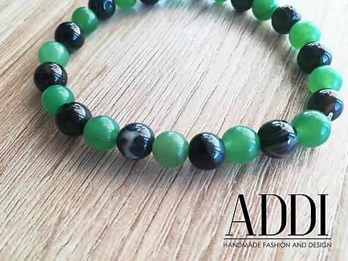 Náramok - JADE   ADDI-handmade - SAShE.sk - Handmade Náramky 53881a3add9