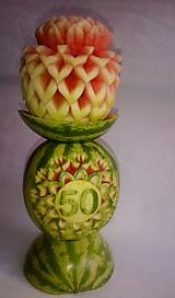 Darčeky pre svadobčanov - Melonova vaza extra - 10296101_