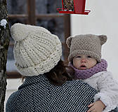 Detské čiapky - Brumbrum...béžová - 10293822_