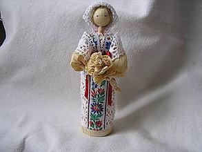 Bábiky - Šúpolienka- nevesta - 10294280_