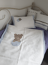 Textil - Detské posteľné obliečky Teddy Bear - 10295652_