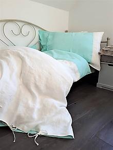 Úžitkový textil - Ľanové posteľné obliečky Magic Story I - 10295540_