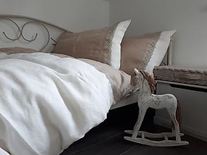 Úžitkový textil - Ľanové posteľné obliečky Magic Story II - 10295583_