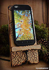 Pomôcky - Stromčekový stojan na mobil - 10299337_