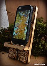 Pomôcky - Stromčekový stojan na mobil - 10299338_