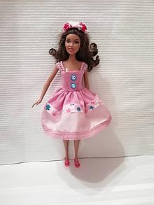 Hračky - Šaty pre bábiku Barbie - 10299411_